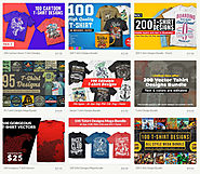 Find The Best Business Online: Thefancydeal bring to another amazing 100 T-shirt Designs Bundle