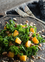 Raw Peach and Kale Salad -Raw Food Rawmazing Raw Food
