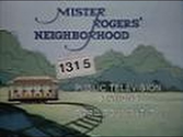 WTTW Channel 11 - Mister Rogers' Neighborhood (Ending, 1983)
