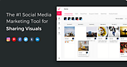 The # 1 Social Media Marketing Tool for Sharing Visuals. Start for free.