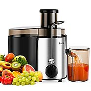 Aicok Juicer Juice Extractor High Speed for Fruit and Vegetables Dual Speed Setting Centrifugal Fruit Machine Powerfu...