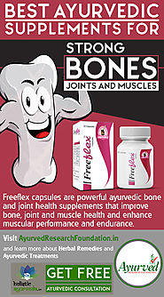 Best Ayurvedic Supplements for Strong Bones, Joints and Muscles