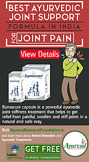 Best Ayurvedic Joint Support Formula in India for Joint Pain