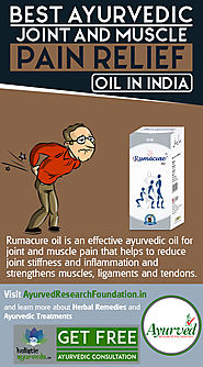 Best Ayurvedic Joint and Muscle Pain Relief Oil in India