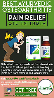 Best Ayurvedic Osteoarthritis Pain Relief Oil in India