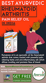 Best Ayurvedic Rheumatoid Arthritis Pain Relief Oil in India