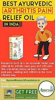Best Ayurvedic Arthritis Pain Relief Oil in India