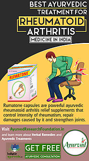 Best Ayurvedic Treatment for Rheumatoid Arthritis Medicine in India