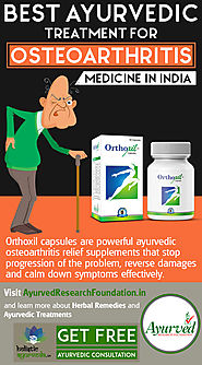 Best Ayurvedic Treatment for Osteoarthritis Medicine in India