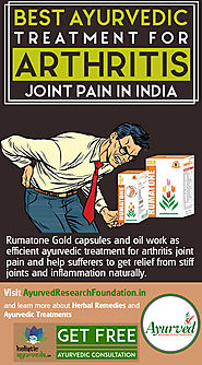 Best Ayurvedic Treatment for Arthritis Joint Pain in India