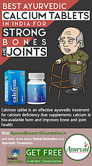 Best Ayurvedic Calcium Tablets in India for Strong Bones and Joints
