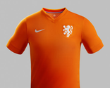 Nike Released 2014 World Cup Netherlands Home Jersey
