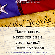 4th of July Freedom Quotes · Styled Graphics by Susan