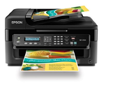 Epson WorkForce WF-2530 Wireless All-in-One Color Inkjet Printer, Copier, Scanner, ADF, Fax. Prints from Tablet/Smart...