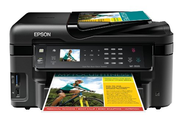 Epson WorkForce WF-3520 Wireless All-in-One Color Inkjet Printer, Copier, Scanner, 2-Sided Duplex, ADF, Fax. Prints f...