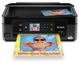 Epson Expression Home XP-400 Wireless All-in-One Color Inkjet Printer, Copier, Scanner. Prints from Tablet/Smartphone...