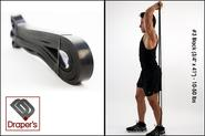 "#3 Black (3/4"" x 41"") - 10-50 lbs - Pull up Band,Exercise, Strength and Resistance Bands. Powerlifting Equipment for ..."