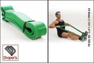 "#5 Green (1-3/4"" x 41"") - 50-120 lbs - Pull up Band,Exercise, Strength and Resistance Bands. Powerlifting Equipment f..."