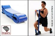 "#6 Blue (2-1/2"" x 41"") - 60-150 lbs - Pull up Band,Exercise, Strength and Resistance Bands. Powerlifting Equipment fo..."