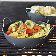 Sur La Table® Pro Nonstick Grill Wok, Large