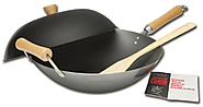 Joyce Chen 21-9972, Classic Series 4-Piece Carbon-Steel Wok Set