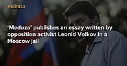 What's wrong with the fight against fake news 'Meduza' publishes an essay written by opposition activist Leonid Volko...