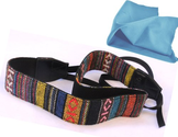 Vintage VNH Multi-Color Neck Strap for Canon Fuji Nikon Olympus Panasonic Pentax Sony Cameras (Multi)