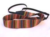 Vintage VNS Soft Multi-Color Neck Strap for Canon Fuji Nikon, Olympus, Panasonic, Pentax and Sony Cameras (Multi)