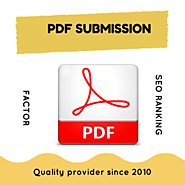 Boost your SEO Ranking with 20 PDF Submission for £10 : Maisha - fivesquid