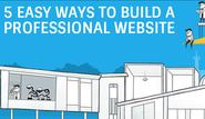 How to Create a Professional Website in 5 Easy Ways