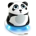 GOgroove Groove Pal Jr. Panda Portable Light-Up Speaker with Impressive Dynamic Audio Driver and Enhaced Bass Woofer ...