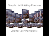 Simple List Building Formula - The best list building course for Internet Marketers