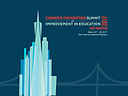 Summit on Improvement in Education - Carnegie Foundation for the Advancement of Teaching