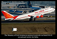 Wi-fi in the Sky: Air India muse on Refurbishing Aircraft interior - Breaking News & Beyond !