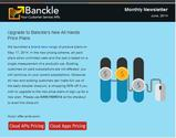 Banckle Newsletter for June 2014: 50% Off on New Sing Up or Upgrade to New Plans