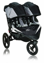 Baby Jogger Summit X3 Double Stroller, Black
