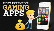 These 13 Most Expensive Gaming Apps Can Empty Your Pocket...! [Infographic]