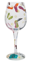 Lolita Love My Wine Glass, Flip Flops