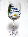 Fun Flip Flop Wine Glasses