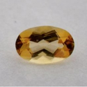 0.50 ct Natural untreated imperial Topaz loose gemstone for sale