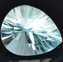 3.82 Ct. Pear cut Natural Sky Blue Topaz