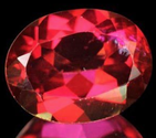 2.05 Ct. Oval cut Natural Red Topaz