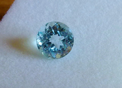 1.50ct natural sky blue Topaz round brilliant cut loose gemstone