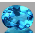 2.31 ct Natural Swiss blue Topaz oval cut loose gemstone for sale