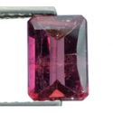 0.90 ct Natural Rubellite red Tourmaline loose gemstone