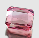 0.63 ct Natural raspberry pink Tourmaline loose gemstone