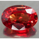 0.69 ct Natural fancy red color Sapphire loose gemstone