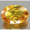 0.78 ct Natural yellow Sapphire loose gemstone