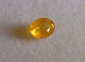 0.25ct Natural yellow Sapphire loose gemstone