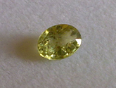 0.25 Natural green Sapphire loose gemstone